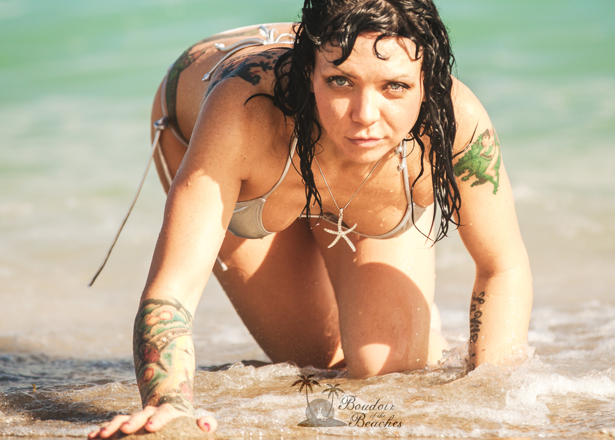 Boudoir-Photography-Ft Lauderdale FL Getting Wet