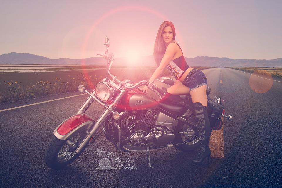 Boudoir-Photography-Biker Babe-Hollywood FL
