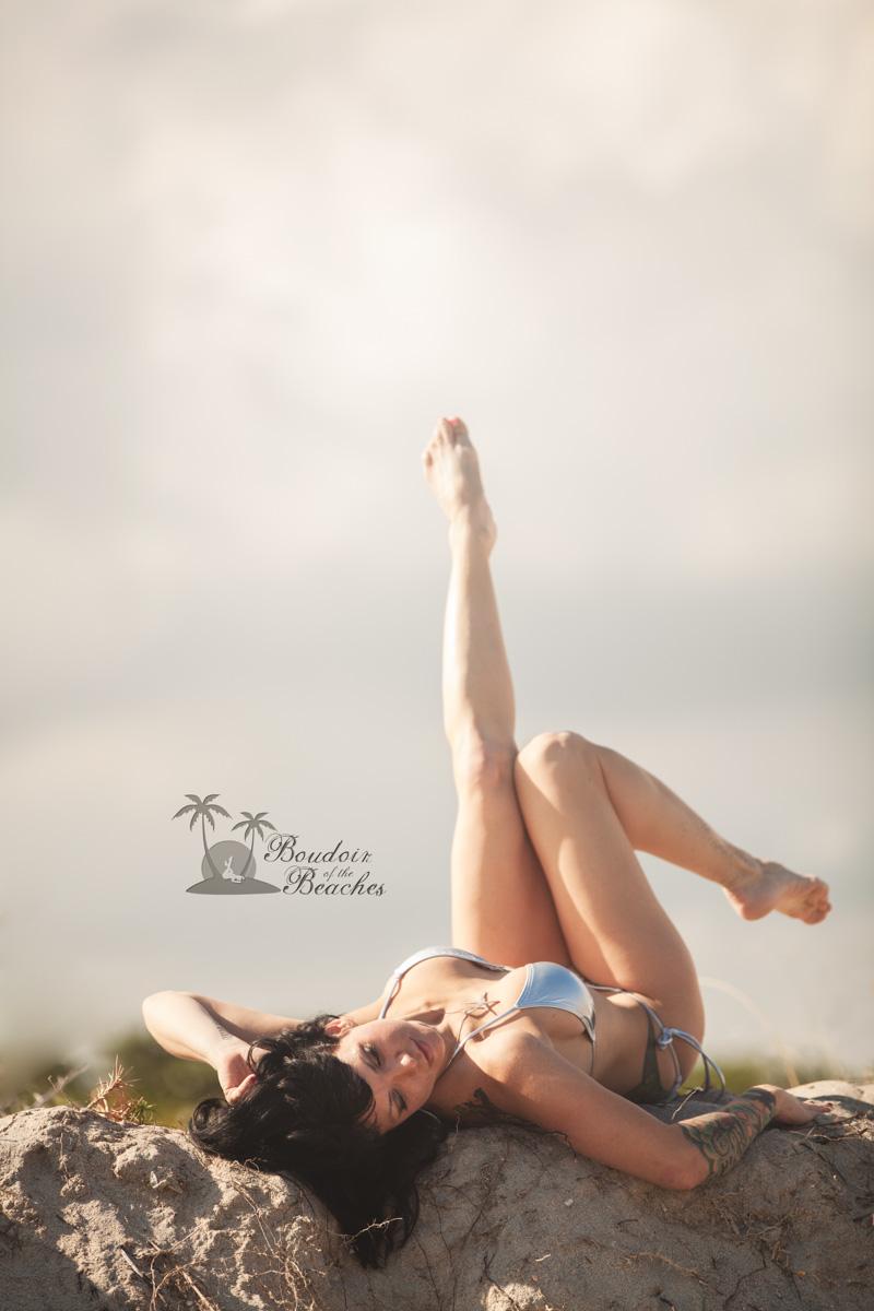 Boudoir-Photography-Ft Lauderdale FL Silver Bikini